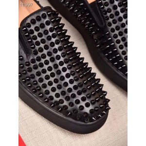 Christian Louboutin Roller Boy spikes men's loafers