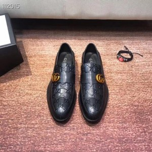 Gucci mens leather loafer embossed Gucci